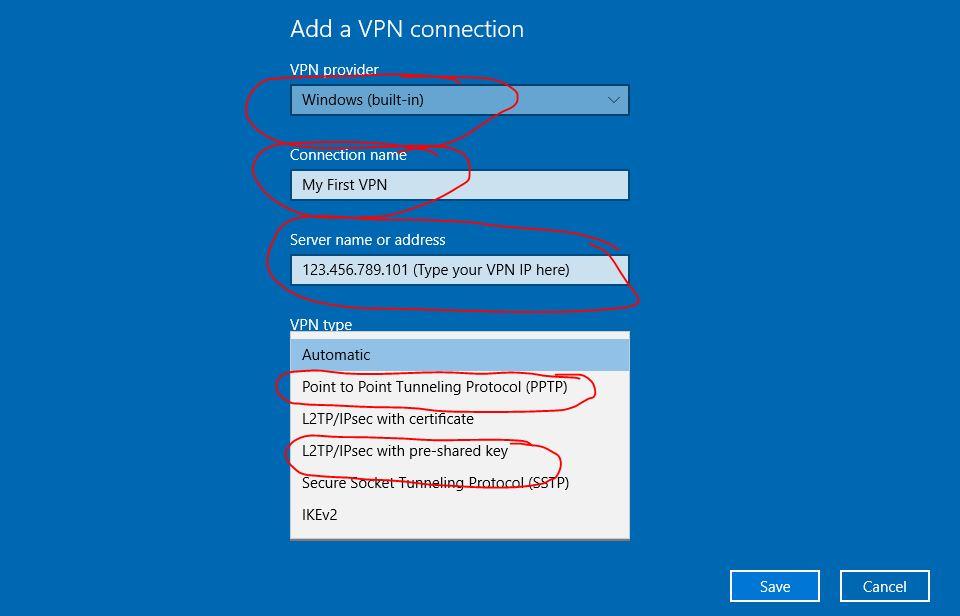 Win 10 PPTP VPN Setup | MoreVPN Dedicated IP VPN - Freedom